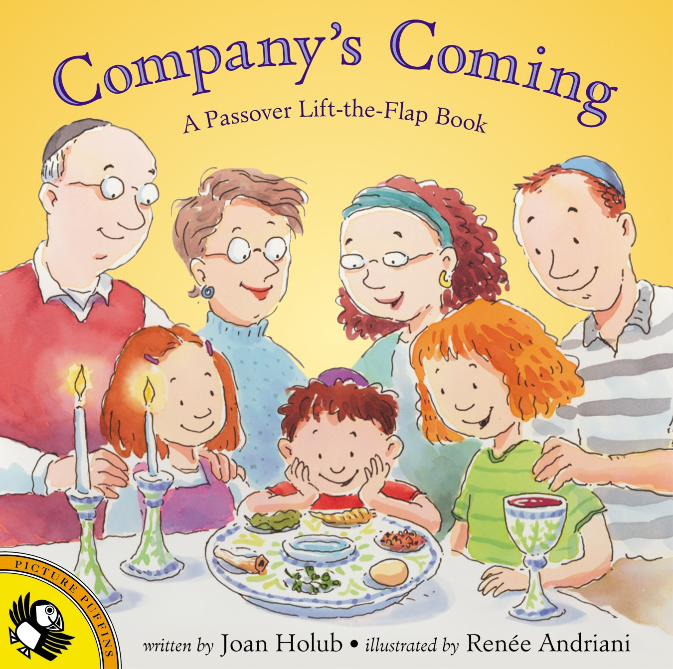 Company's Coming : A Passover Lift-The-Flap Book