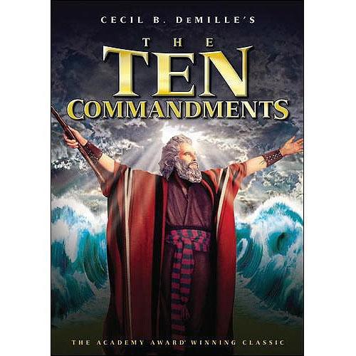The Ten Commandments (1956) (Widescreen)