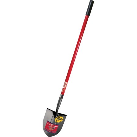 Image of Bully Tool P-Long Handle Round Point Shovel Fiberglass Handle
