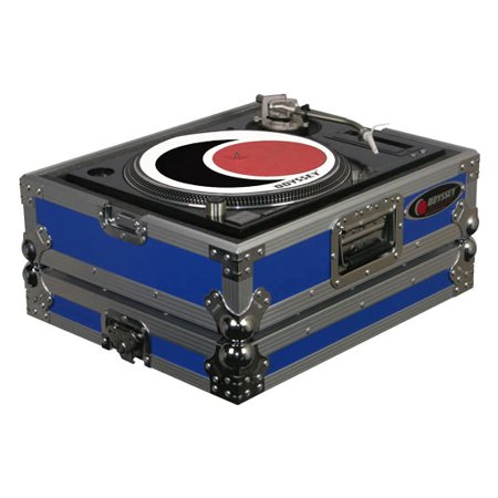 - Odyssey Cases FTTXBLUE Blue Stackable Turntable Ata Case W/ 2.5