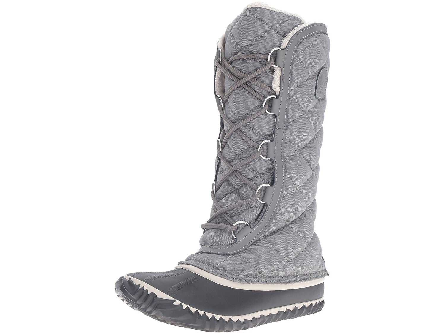 ca0470ce5f4 SOREL Womens out n about Closed Toe Knee High Cold Weather Boots, Grey,  Size 5.0