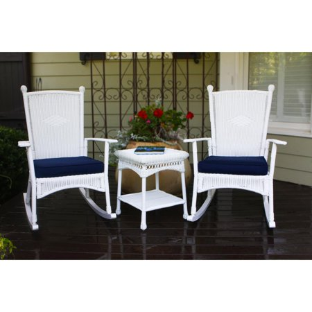 Tortuga Outdoor Portside Classic 3 pc. Rocker Set with Side Table