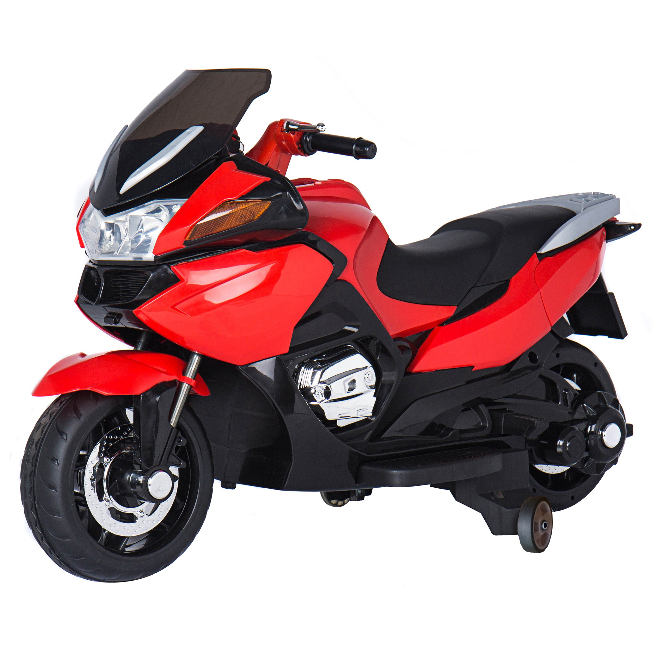 Red 12V Motorcycle by Blazin' Wheels