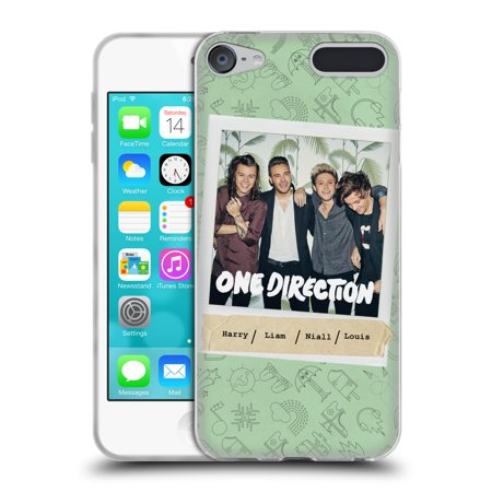 OFFICIAL ONE DIRECTION MADE IN THE A.M. SOFT GEL CASE FOR APPLE IPOD TOUCH