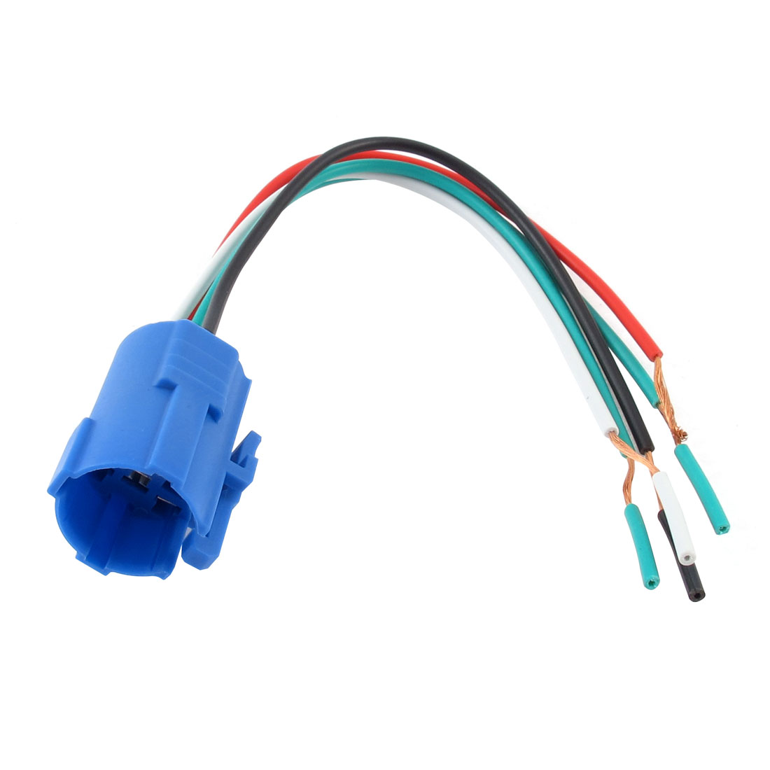 Plastic 19mm Insert Molding Mount Push Button Switch Socket Electrical Wiring Connector Wire