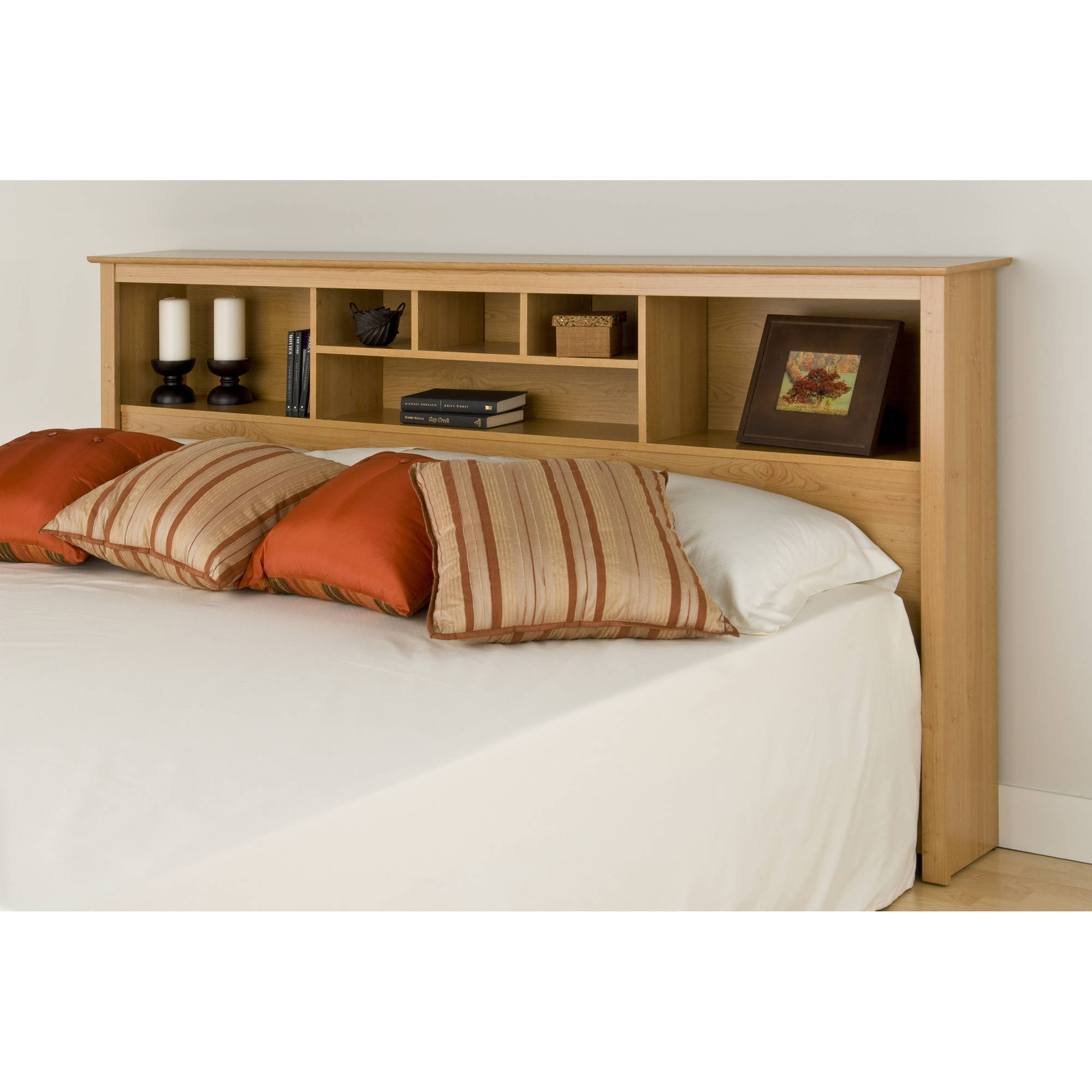 Prepac Sonoma King Storage Headboard Multiple Colors