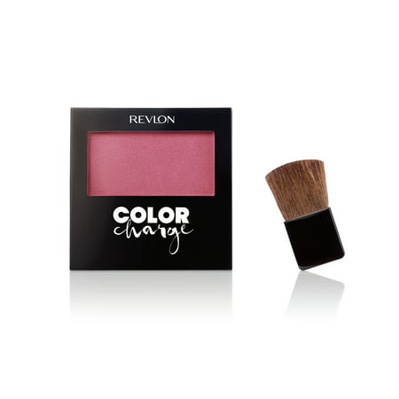- Revlon Color Charge Powder Blush, Hot Cheeks
