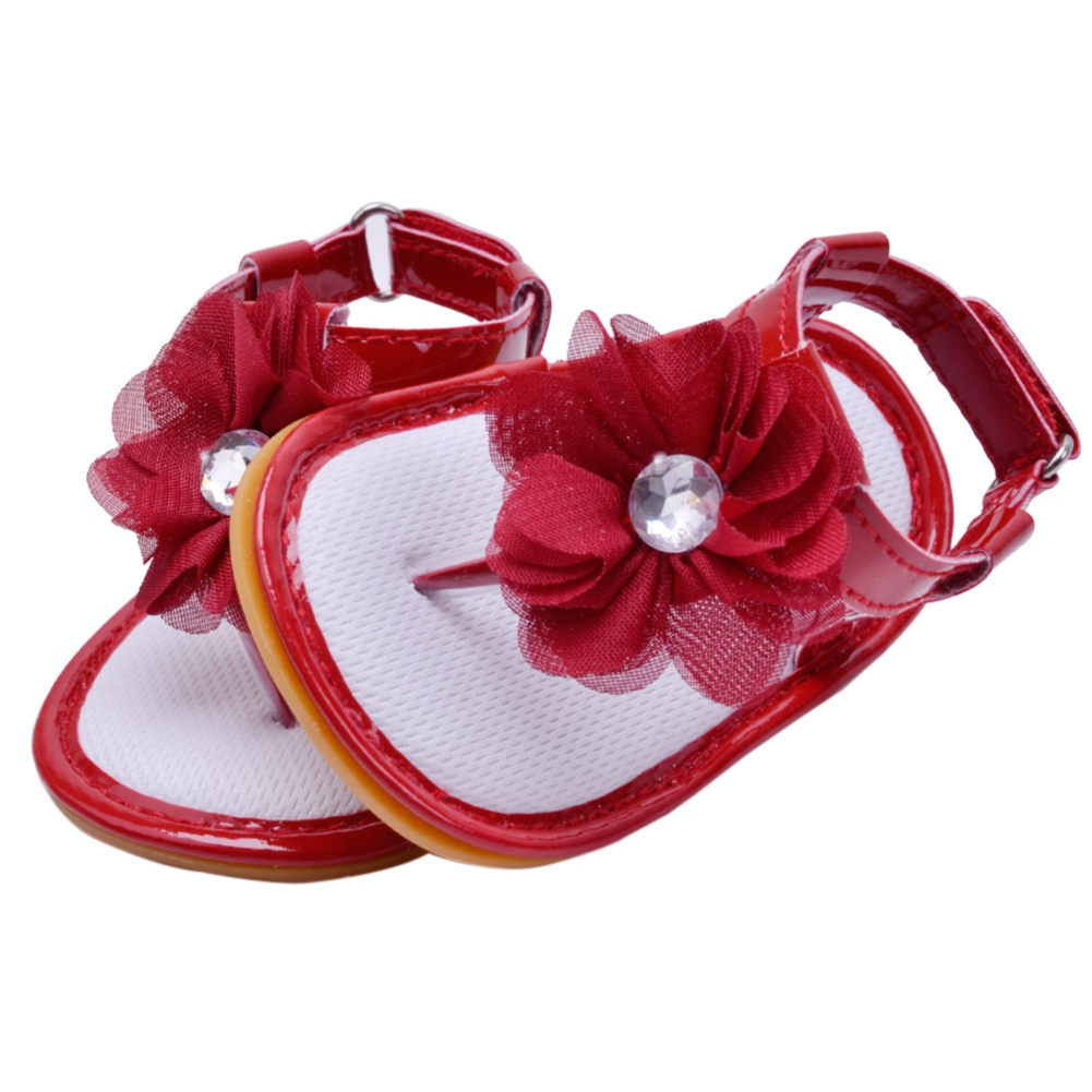 4f1469721 Marainbow - Newborn Baby Shoes PU Flower Sandals Summer Toddler Infant Girl  Shoes 6M-12M - Walmart.com
