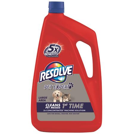 Resolve Pet Carpet Steam Cleaner Solution, 48oz Bottle, 2X (Best Steam Cleaner For Bathroom Grout)