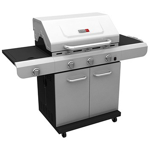 Char-Broil 3-Burner TRU-Infrared Cart Gas Grill, Stainless Steel