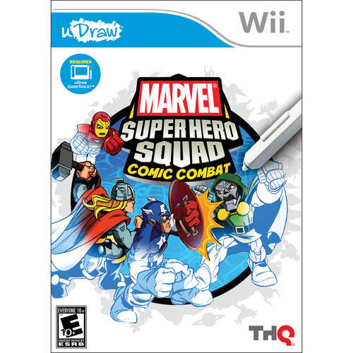 uDraw Marvel Super Hero Squad: Comic Combat - Nintendo Wii