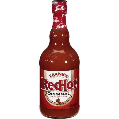 Frank's Red Hot Original Cayenne Pepper Sauce Condiment, 23 fl oz