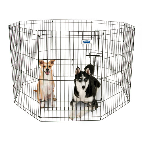 Aspen Pet Exercise Pen with Door, 36X24, 8 Panels