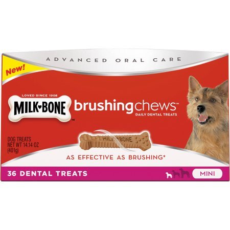 Milk Bone Advanced Oral Care Brushing Chews Mini   36 Ct
