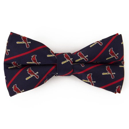 St. Louis Cardinals Stripe Bow Tie