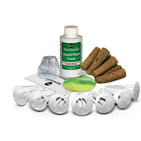 Seed Pot Kit / Best Grow Anything Kit 7 Grow Pods + Plant Food by (Best Plants To Grow In Shade)
