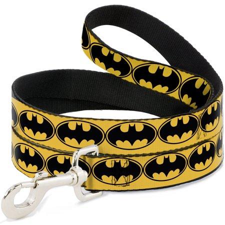 Batman DC Comics Superhero Yellow Back Shield Logo Fun Animal Pet Dog