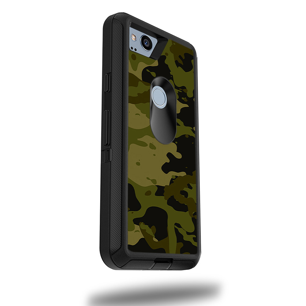 "MightySkins Skin For OtterBox Defender Google Pixel 2 XL 5.5"" Case - Artic Camo 