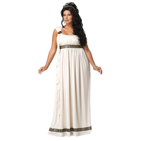 Plus Size Olympic Goddess Adult Womens Halloween Costume - Halloween Costumes Plus Sizes Womens