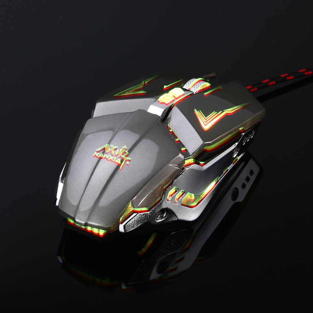 M620 8D USB Wired Backlight Gaming Mouse Optical PC Laptop Mouse Ergonomics Game Mice Plug And Play Computer Peripherals