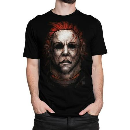 Get Down Art Men's Big Chris Michael Myers Halloween T-Shirt - Halloween Events Ft Myers