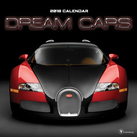 Tf Publishing 2018 Dream Cars Wall Calendar