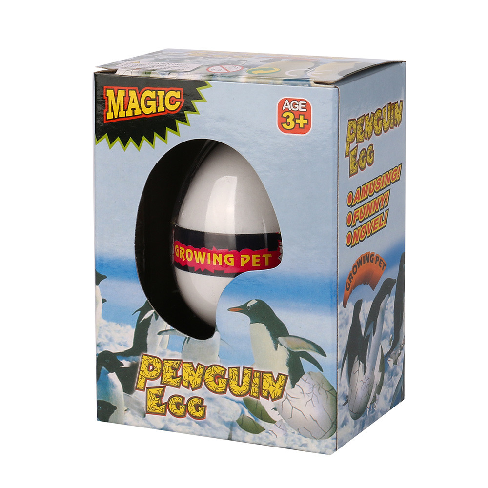 Tuscom Magic Penguin Easter Egg Add Water Growing Dino Eggs Inflatable Kid Toy