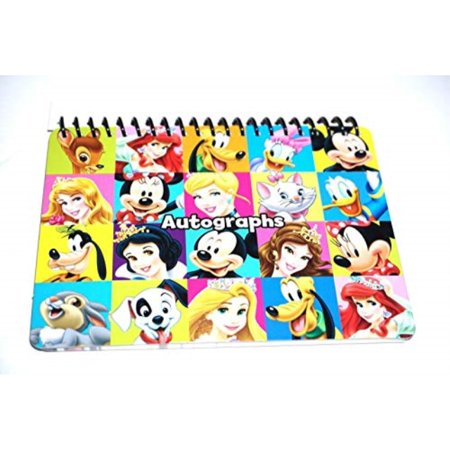 Disney Mickey Minnie Mouse Donald Duck & Family Autograph Book