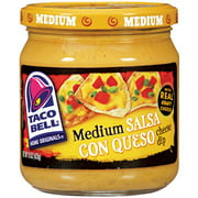 Taco Bell Home Originals Salsa Con Queso Medium Cheese Dip, 15 oz