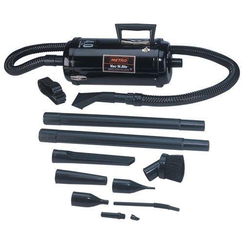 METRO Vac N Blo HRS-83BA Canister Vacuum Cleaner - 4HP Motor