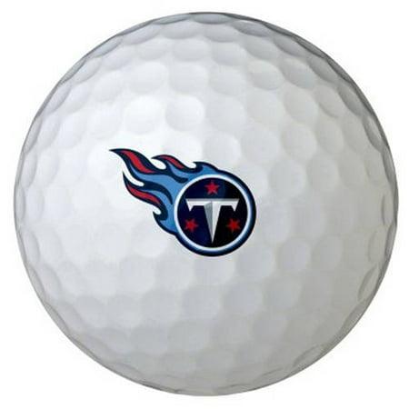 Wilson NFL Team Logo Golf Ball, 6 Pack