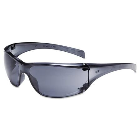 3M Virtua AP Protective Eyewear, Grey Frame and Lens, (Most Expensive Eyewear Brands)
