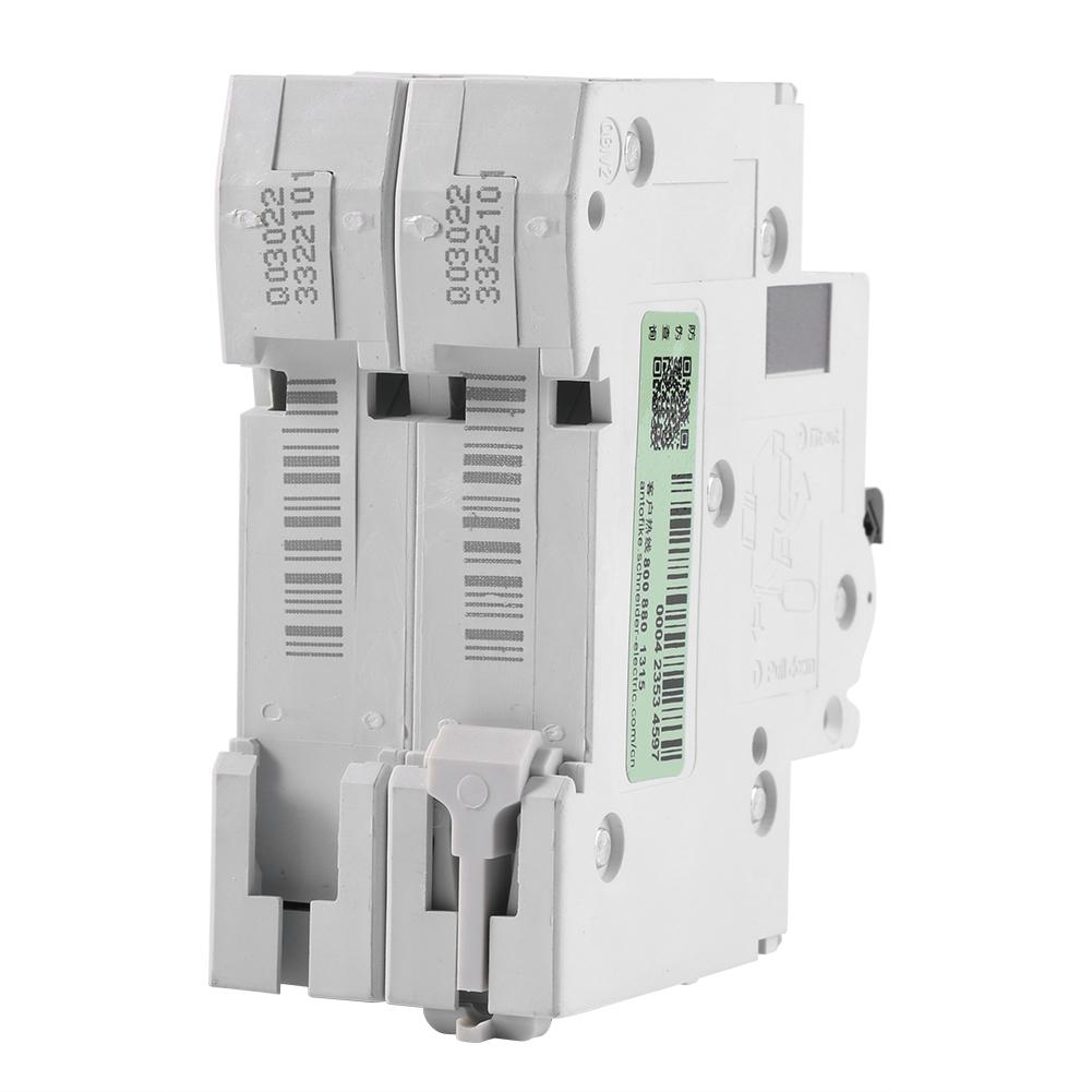 250VDC 2P Low-voltage Miniature Air Circuit Breaker Solar Energy Switch C65H-DC