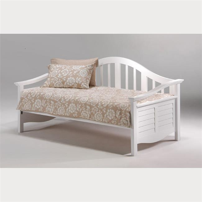 Night & Day Furniture DBA-SEG-WH Seagull Daybed Arm Set i...