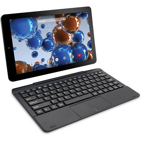 "Refurbished RCA RCT6303W87DK Viking Pro 10"" Tablet w/ detachable keyboard,32GB (BLacK)"