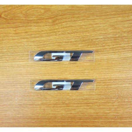2013-2019 Chrysler, Dodge GT Brand Emblem Decal (Set of 2) NEW MOPAR (Dodge Decal Set)