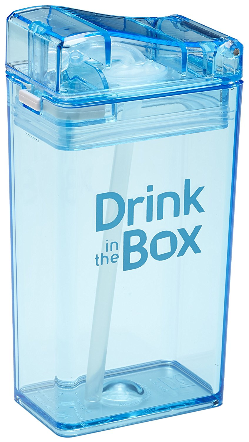 Drink In The Box Drink Container - 8 Ounce - Blue