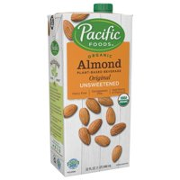 Pacific Foods Unsweetened Organic Almond Milk, 32 oz