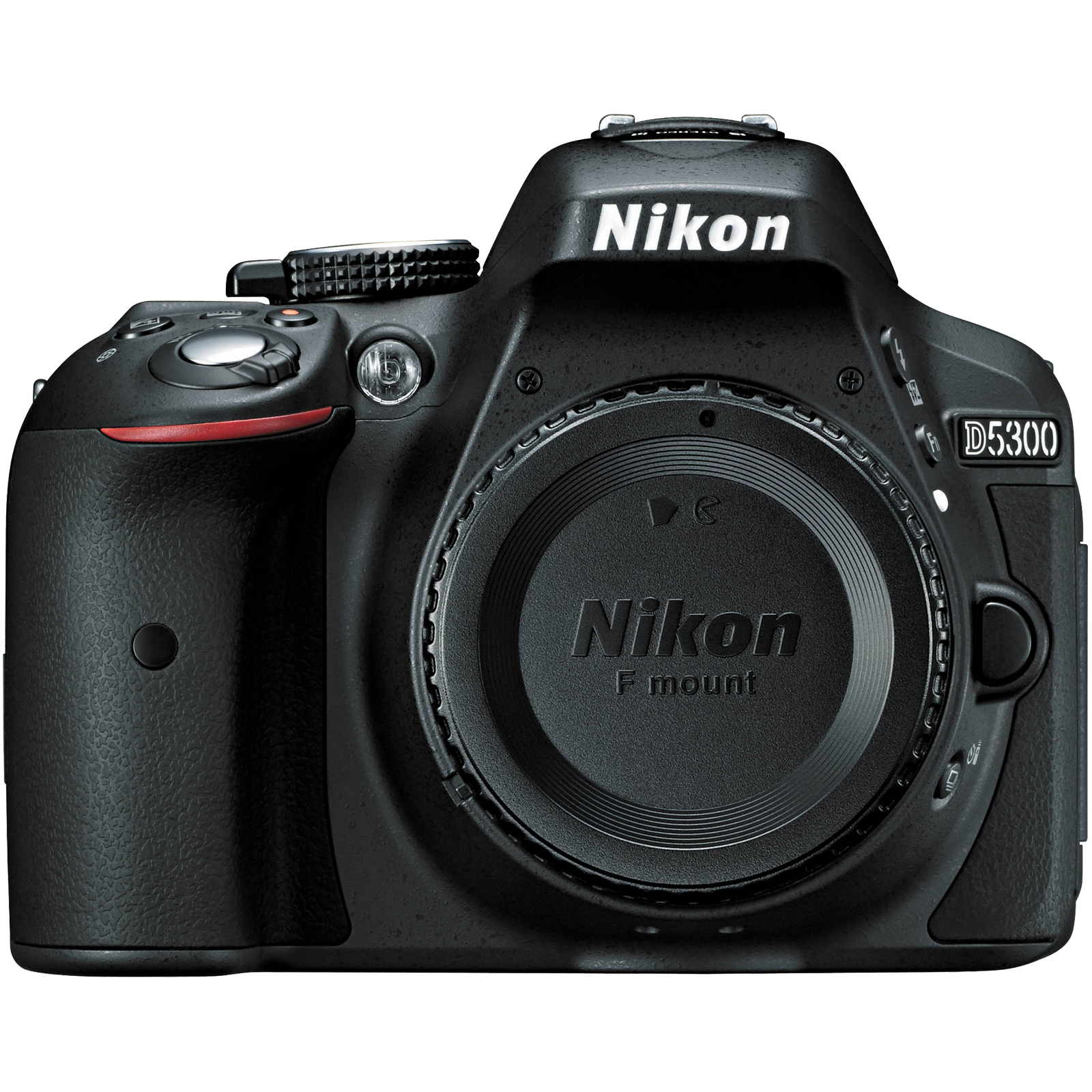 Nikon D5300 - Digital camera - SLR - 24.2 MP - APS-C - body only - Wi-Fi - black