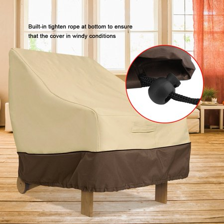 Ymiko Waterproof Dust-proof Furniture Chair Sofa Cover Protection Garden Patio Outdoor, Furniture Protection, Waterproof Furniture Cover