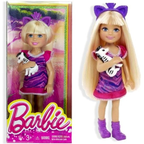 Barbie - Mattel Barbie Destination Chelsea/zebra