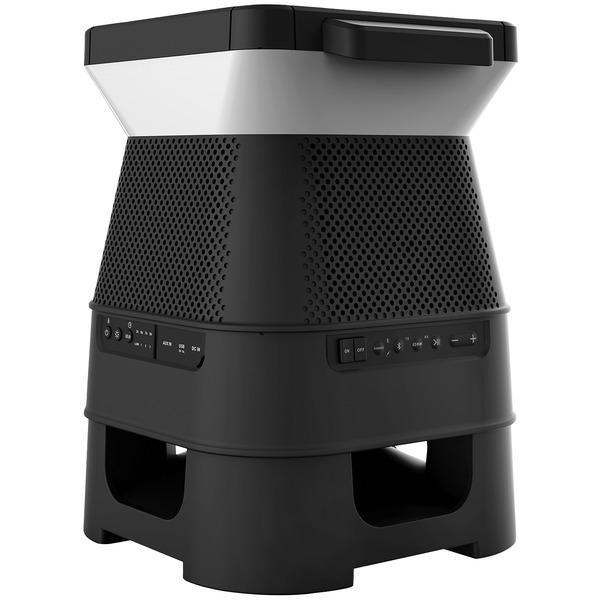 Monster(R) MNSOL-BLK SOLARA Solar-Powered Indoor/Outdoor Bluetooth(R) Speaker