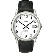 Timex Men's Easy Reader Date 35mm Leather Strap Watches