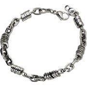 Stainless Steel Polished Bracelet, 9