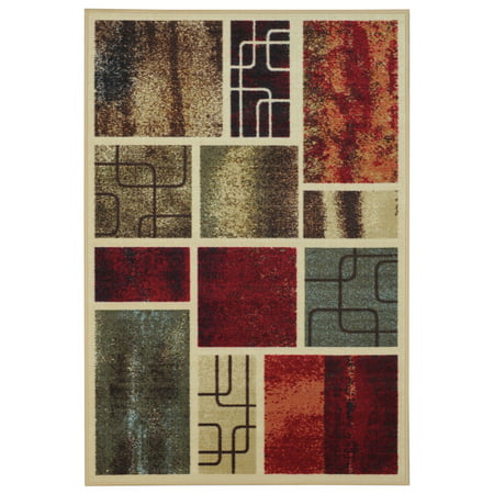 Maxy Home Hamam Collection HA-5059 (Non-Skid) Rubber Back Area Rug - 39-inch-by-60-inch -