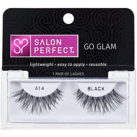 Salon perfect lashes 614 black 1 pair for 560 salon grand junction
