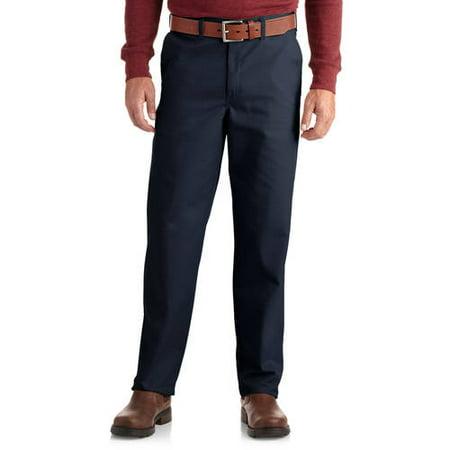 Genuine Dickies Men's Flat-Front Comfort Waist Pants