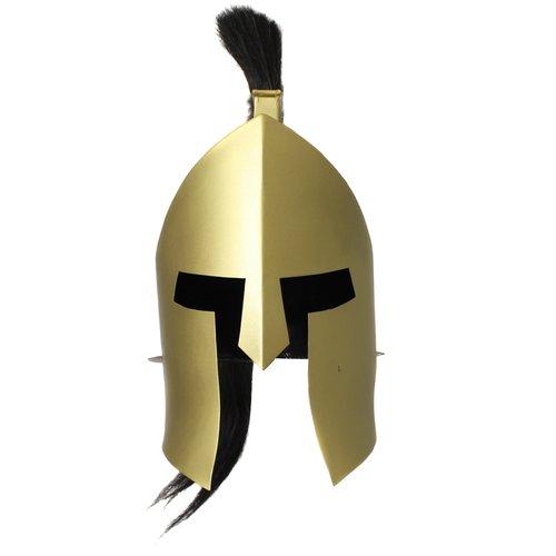 EC World Imports Antique Replica Armor Spartan King Plume Helmet by ecWorld Enterprises