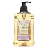 A La Maison Liquid Hand Soap - Rose Lilac - 16.9 Fl Oz.