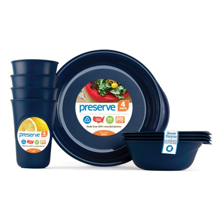 Everyday Tableware Set, Midnight Blue
